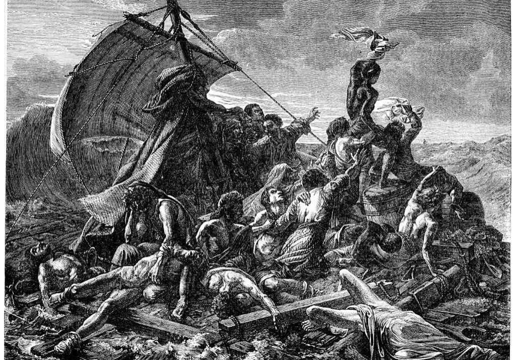 Das Floß der Medusa (Théodore Géricault)