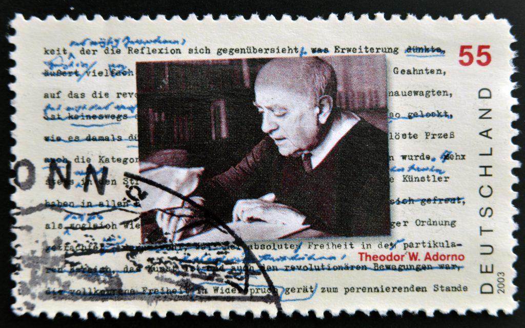 Minima Moralia Briefmarke (Bild: Shutterstock)
