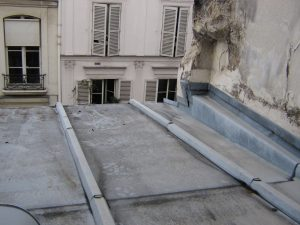 Aussicht aus einem Zimmer im Marais in Paris